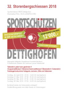 Schiessplan 2018